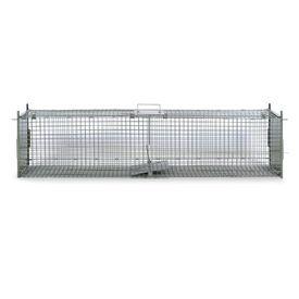 Cușcă capcană cu 2 uși 150 x 30 x 30 cm
