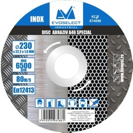 Disc Abraziv Evoselect A46 Special 125x1.6mm - 674096