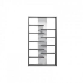 Etajera inalta gri grafit/alb GL MARSIE M14