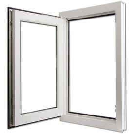 Fereastră oscilobatantă PVC 3 foi sticlă mâner dreapta 600 x 1000 mm