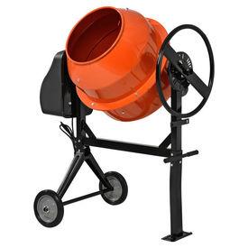 [in.tec]® Betoniera HTWT-5271, 140 litri, 550W, 112 x 70 x 129 cm, portocaliu, lacuit