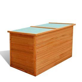 Ladă de depozitare pentru grădină din lemn