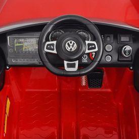 Mașină de tip ride-on cu telecomandă VW Golf GTI 7 12 V, Roșu
