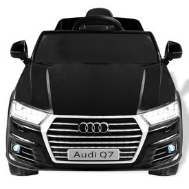 Mașinuță electrică Audi Q7, negru, 6 V
