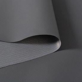Material piele artificială, 1,4 x 36 m, gri