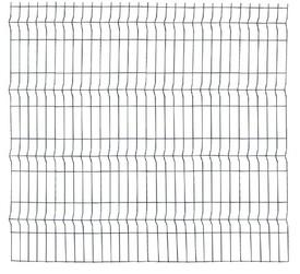 Panou Bordurat Zincat pt Gard - 2x1.5 - 653134