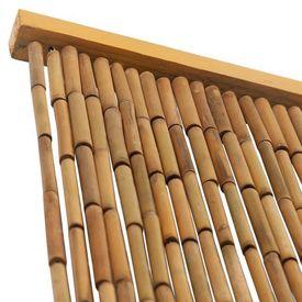 Perdea de ușă pentru insecte, bambus, 100x200 cm