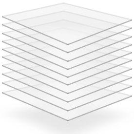 Plăci din sticlă acrilică 10 buc., 40 x 60 cm, 4 mm