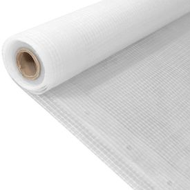 Prelată Leno, alb, 2 x 10 m, 260 g/m²