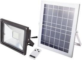 Proiector LED cu Incarcare Solara si Telecomanda / P[W]: 12; Ps[W]: 18