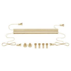 Roleta armonica / perdea plisata - 45 x 150 cm - crem - protectie impotriva luminii si a soarelui - jaluzea - fara gaurire
