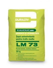 Șapă autonivelantă pentru trafic mediu, aditivată cu Kauciuc