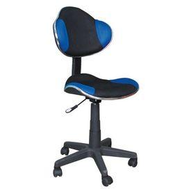 Scaun birou copii mesh SL QG2 albastru - negru