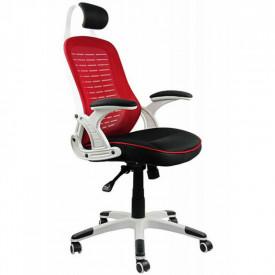 Scaun ergonomic mesh OFF 904 rosu