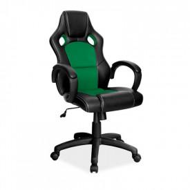 Scaun gaming SL Q103 negru - verde