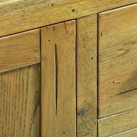 Servantă, 110 x 35 x 70 cm, lemn de stejar rustic