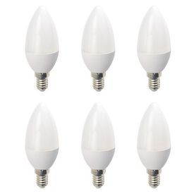 Set 6 Becuri LED Drimus E14 6W lumina rece DL-6062