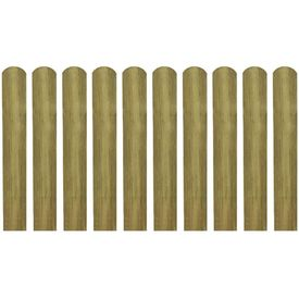 Șipci de gard din lemn tratat, 30 buc., 60 cm, lemn