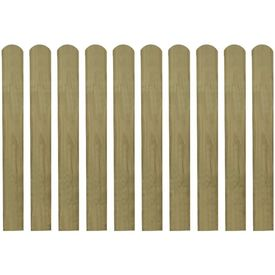Șipci de gard din lemn tratat, 30 buc., 80 cm, lemn FSC