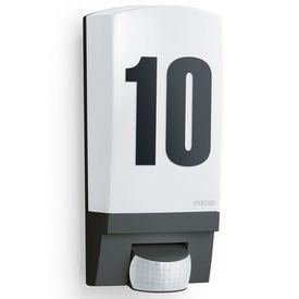 Steinel Lampă cu senzor pentru exterior L 1 Număr de Casă Negru