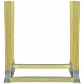 Stivuitor pentru lemne de foc 1000 x 340 x 1000 mm