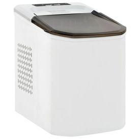 vidaXL Aparat de făcut cuburi de gheață, alb, 1,4 L, 15 kg / 24 h