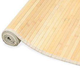 vidaXL Covor din bambus, natural, 80 x 300 cm