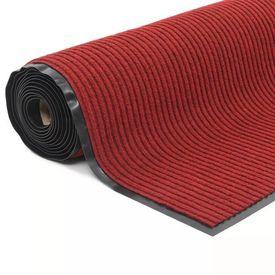 vidaXL Rolă de covor antiderapant cu suport din vinil 1,2x10 m Roșu