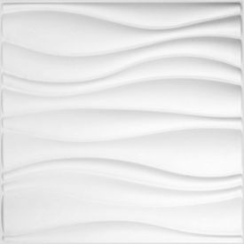 WallArt Lambriuri de perete 3D, Waves, 12 buc, GA-WA04