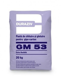 Pastă de chituire și gletuire pentru gips-carton, extra flexibilă - 20 kg