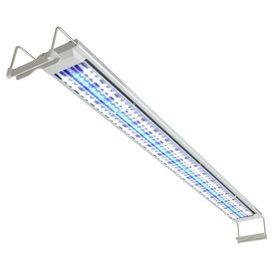 Lampă acvariu cu LED, 120-130 cm, aluminiu, IP67