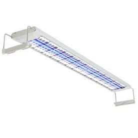 Lampă acvariu cu LED, 80-90 cm, aluminiu, IP67