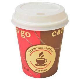 Pahare de cafea de unică folosință cu capace 290 ml, 1000 buc.