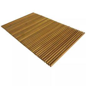Covor de baie, lemn de acacia, 80 x 50 cm