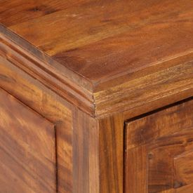 Pantofar, 60 x 40 x 41 cm, lemn masiv de acacia