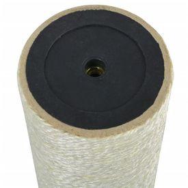 Ansamblu de joacă pentru pisici 8x25 cm, 8 mm Bej