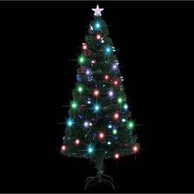 Brad de Crăciun artificial cu suport/LED, 180 cm, 220 ramuri