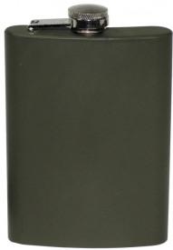 Butelca inoxidabila cu capac, volum 225 ml, olive