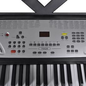 Claviatură electronică 54 clape cu suport note muzicale