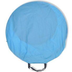 Cort pentru plajă cu protecție UV, Albastru