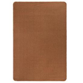 Covor de iută cu spate din latex, 190 x 300 cm, maro