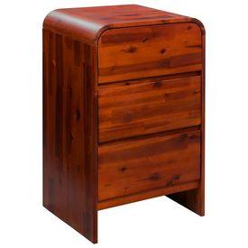Cufăr cu sertare, lemn masiv de acacia, 45 x 37 x 75 cm