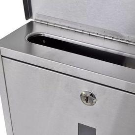 Cutie poștală din oțel inoxidabil
