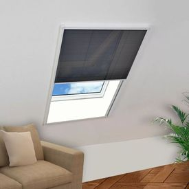 Ecran insecte pentru ferestre, aluminiu, 60x80 cm