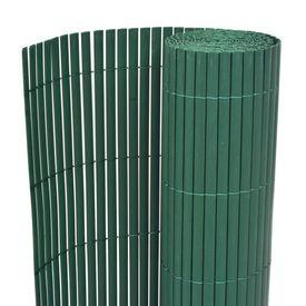 Gard de grădină cu două fețe, verde, 170 x 300 cm