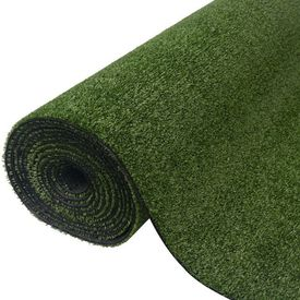 Gazon artificial, 1,5 x 5 m/7 - 9 mm, verde
