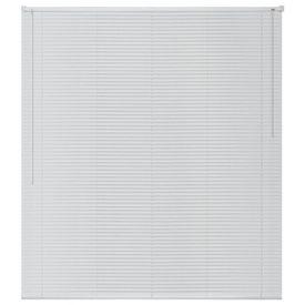 Jaluzele pentru fereastră, aluminiu, 160 x 160 cm, alb