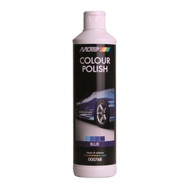 MOTIP COLOUR POLISH 748C polish  albastru 500ml