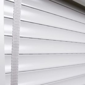 Oblon rulant, alb, 110 x 220 cm, aluminiu