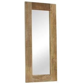 Oglindă, lemn masiv de mango, 50 x 110 cm